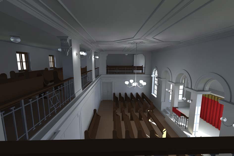 Betsaal nach dem Umbau