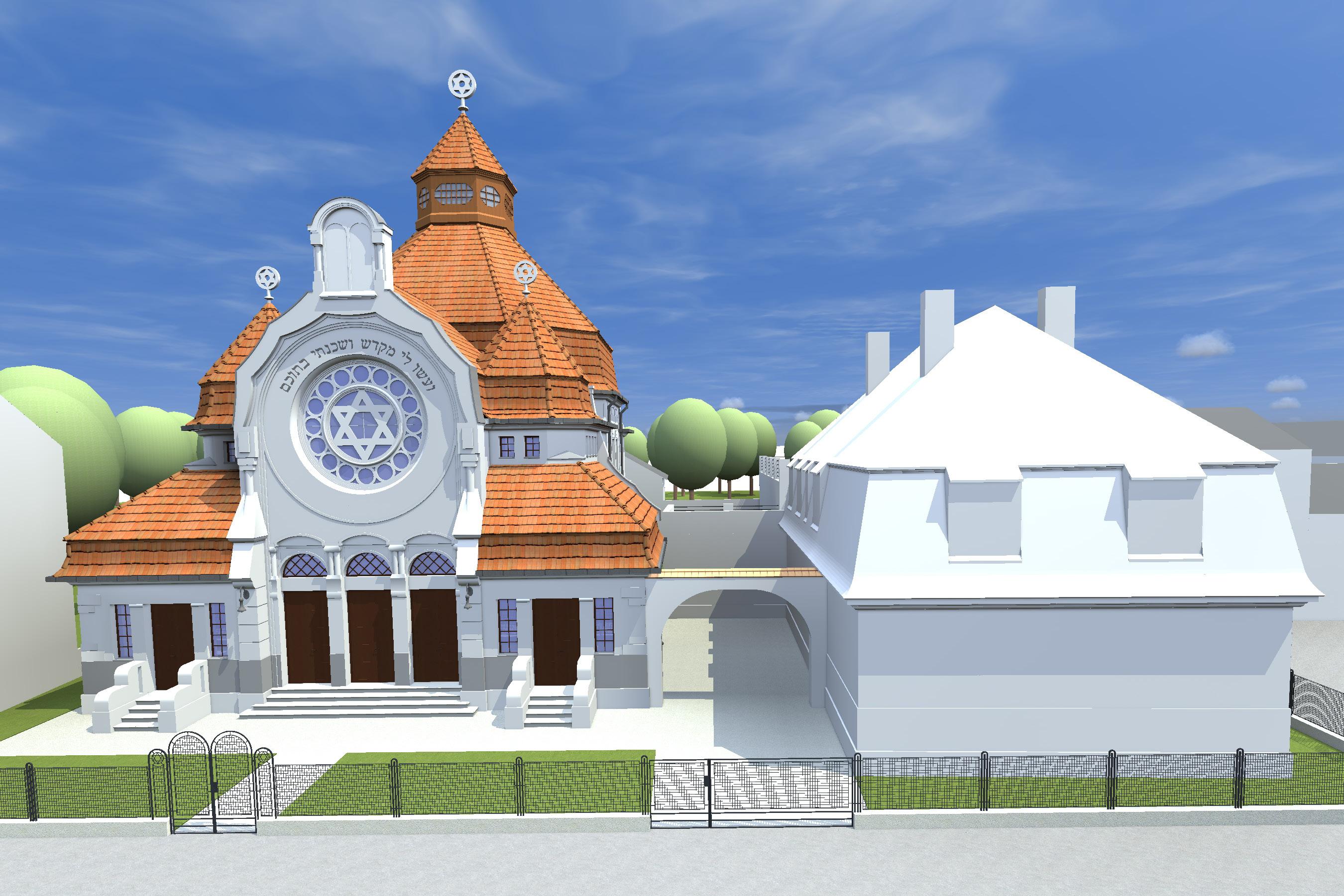 Synagoge und Amtshaus