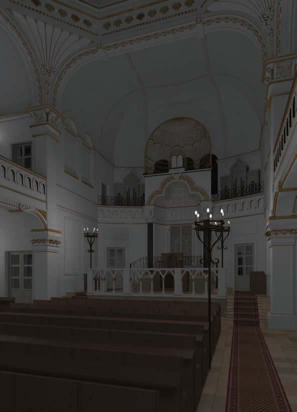Betsaal bei Nacht