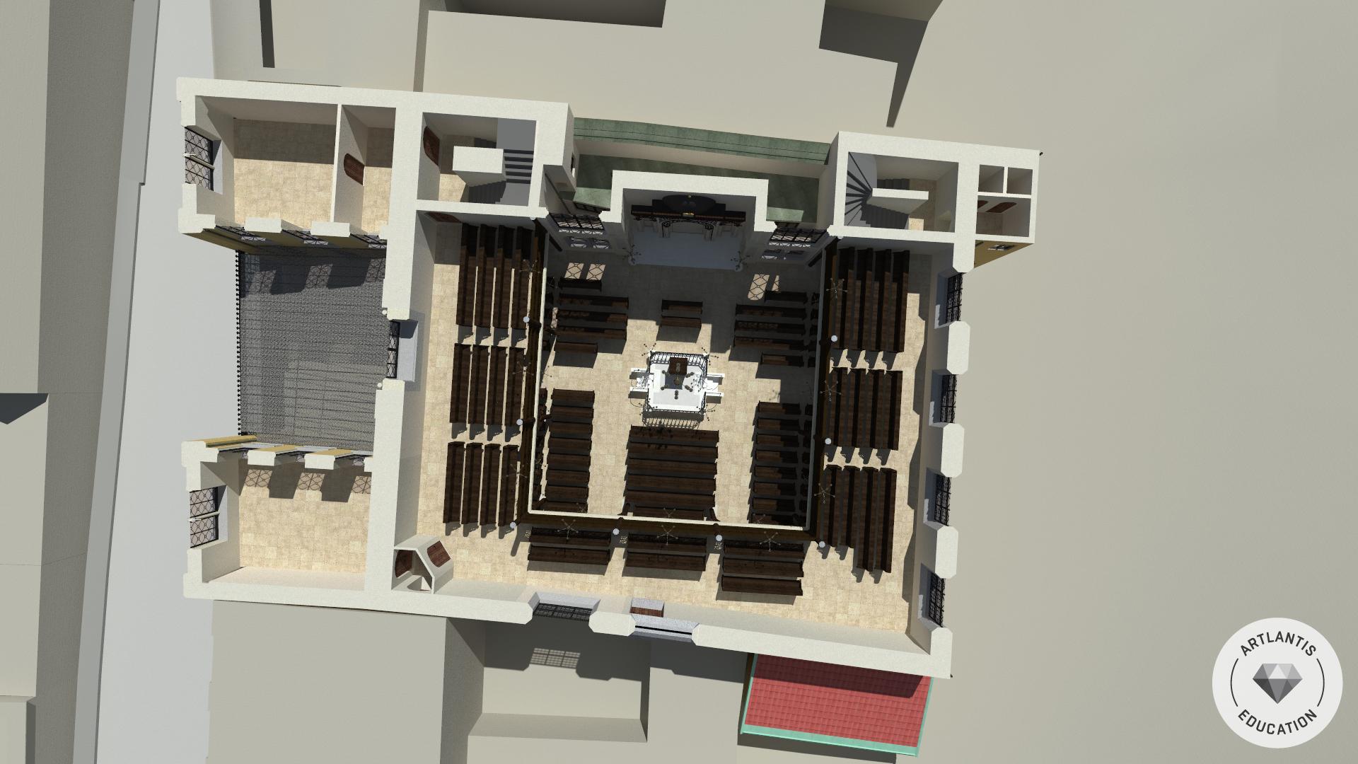 3D-Grundriss - 1. Obergeschoß
