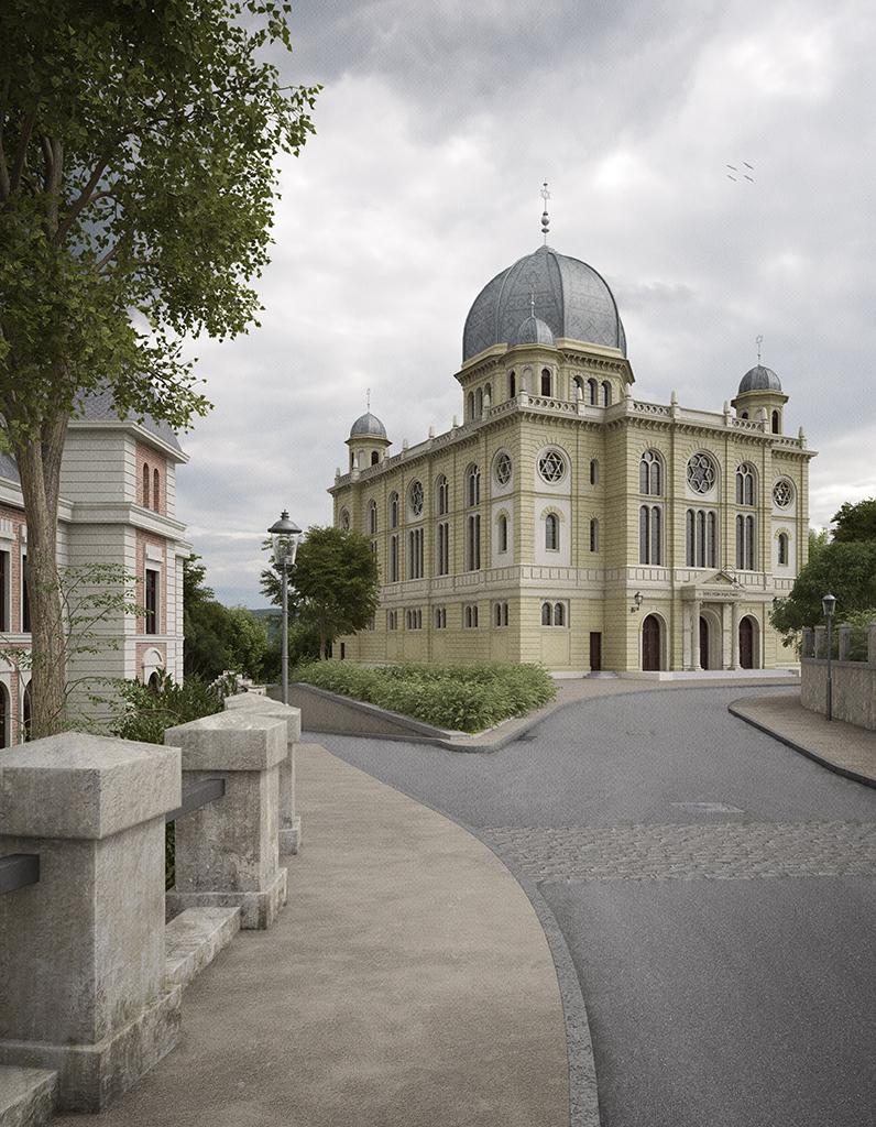Blick von Elisabethstraße