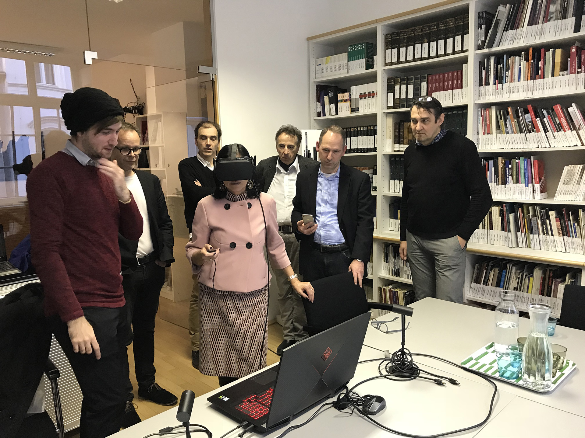 VR-Präsentation im Jüdischen Museum Wien (c) Bob Martens
