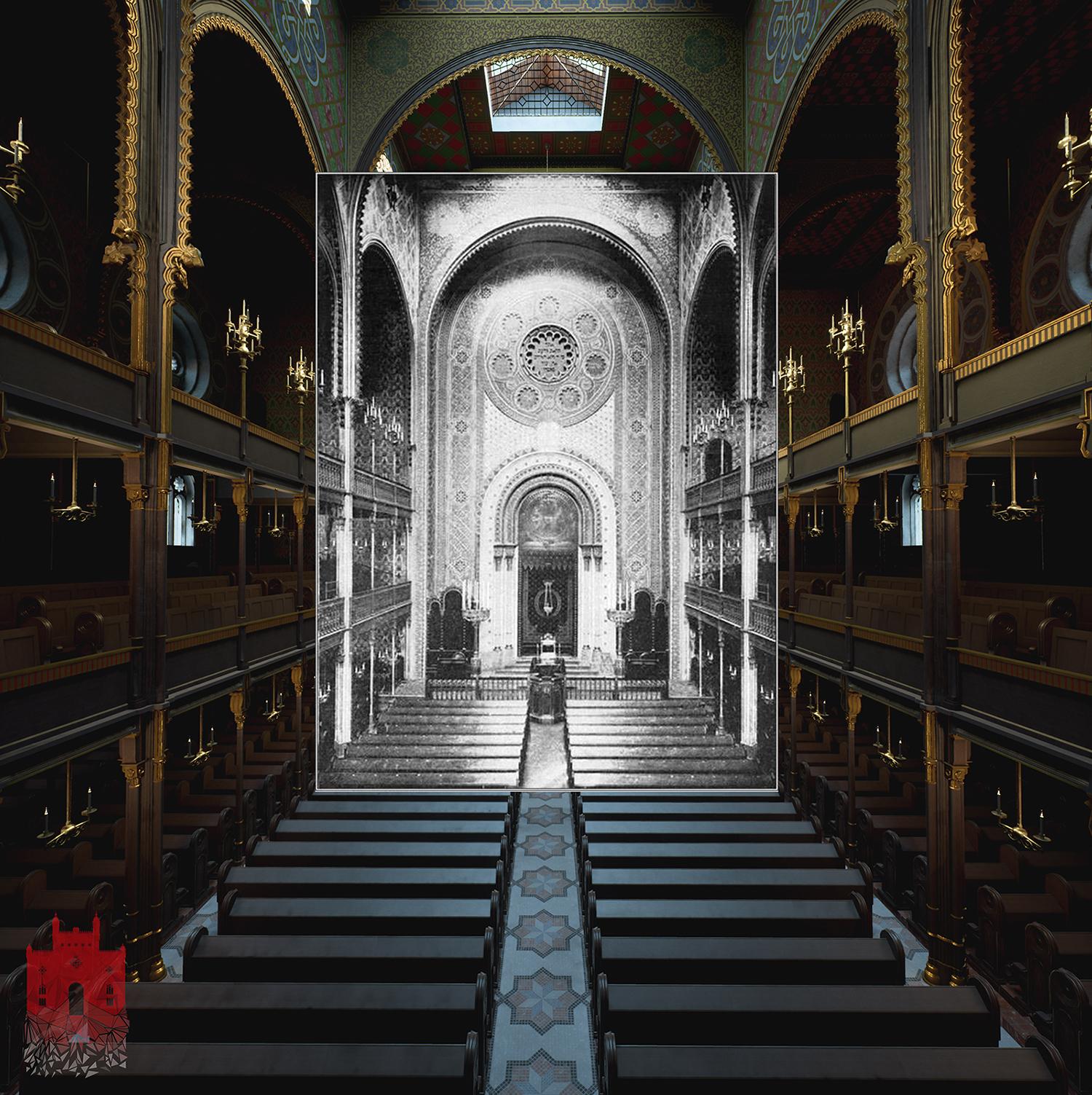 Eine Einfügung eines Originalfotos in die Echtzeitvisualisierung in der Unreal Engine