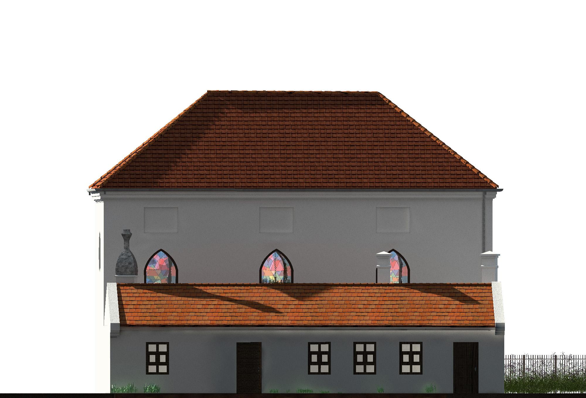 Nordfassade der alten Synagoge