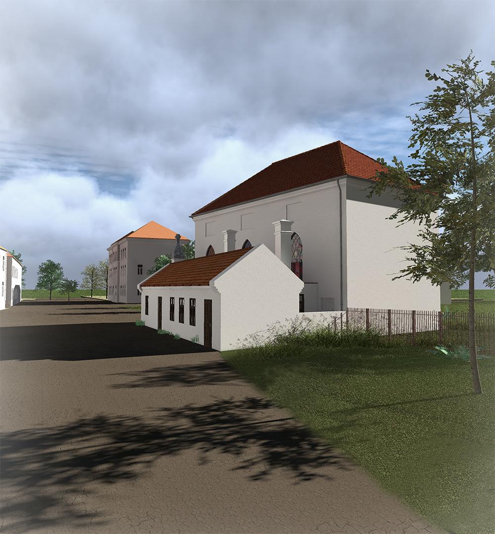 Alte Synagoge - Blick Richtung Osten