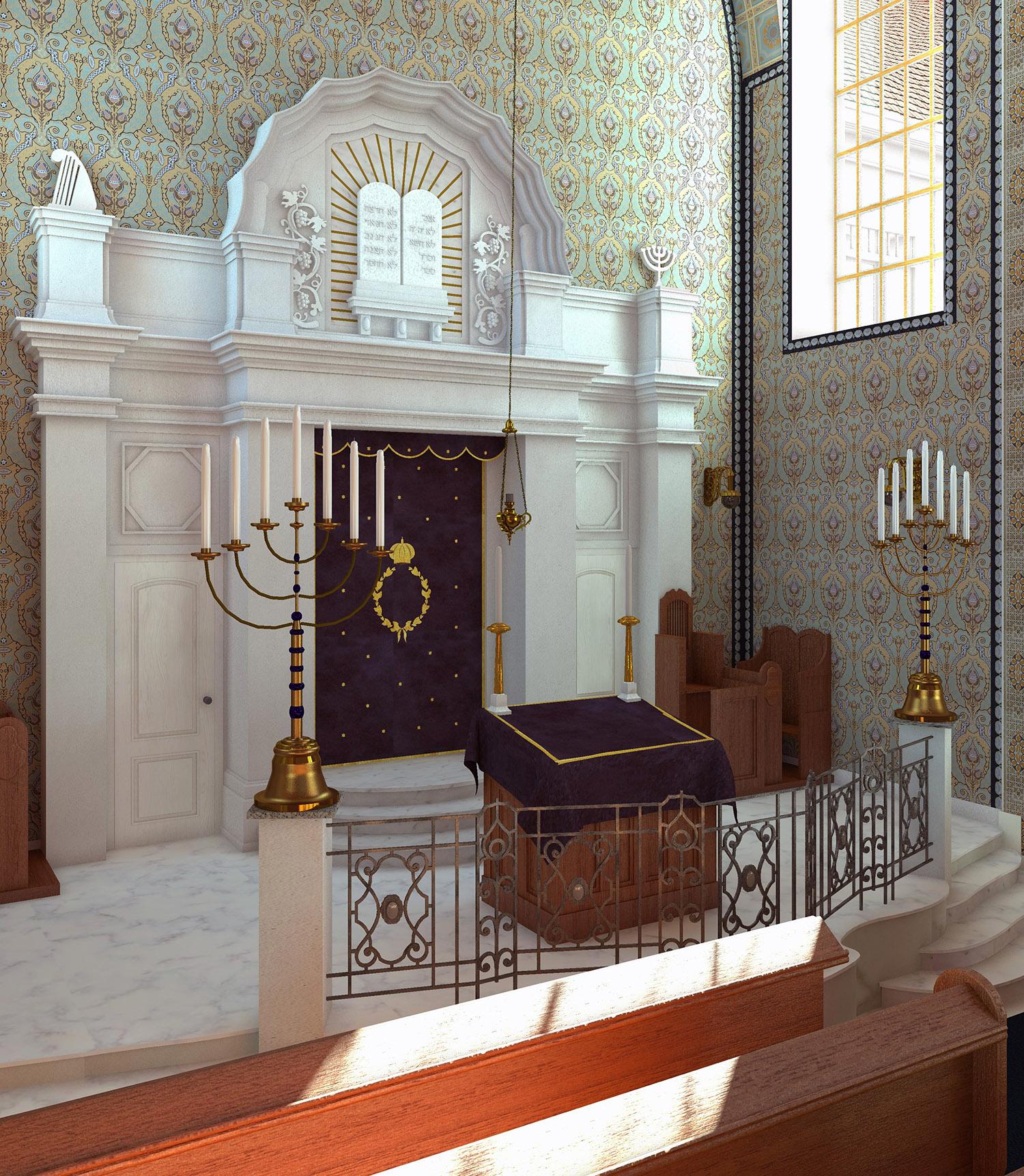 Neue Synagoge - Thoraschrein
