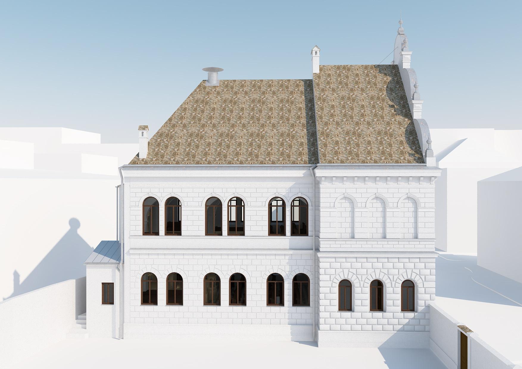 Außenansicht 4 Rekonstruktion