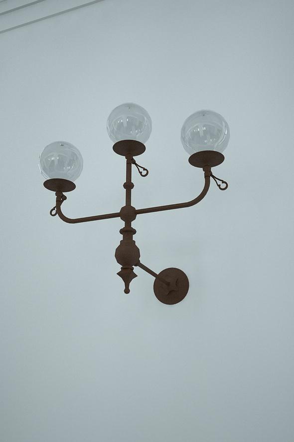 Lampen Detail Rekonstruktion