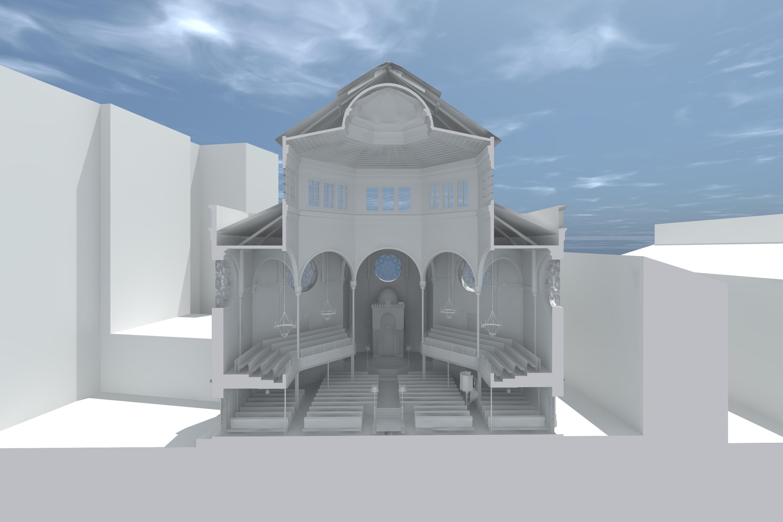 3D-Querschnitt, Weißrendering