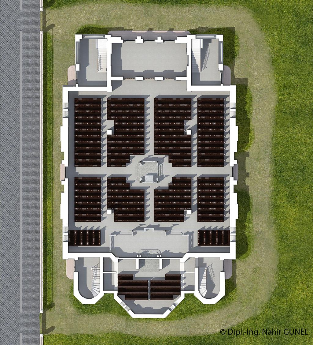 Abb. 103 - Grundriss Erdgeschoss