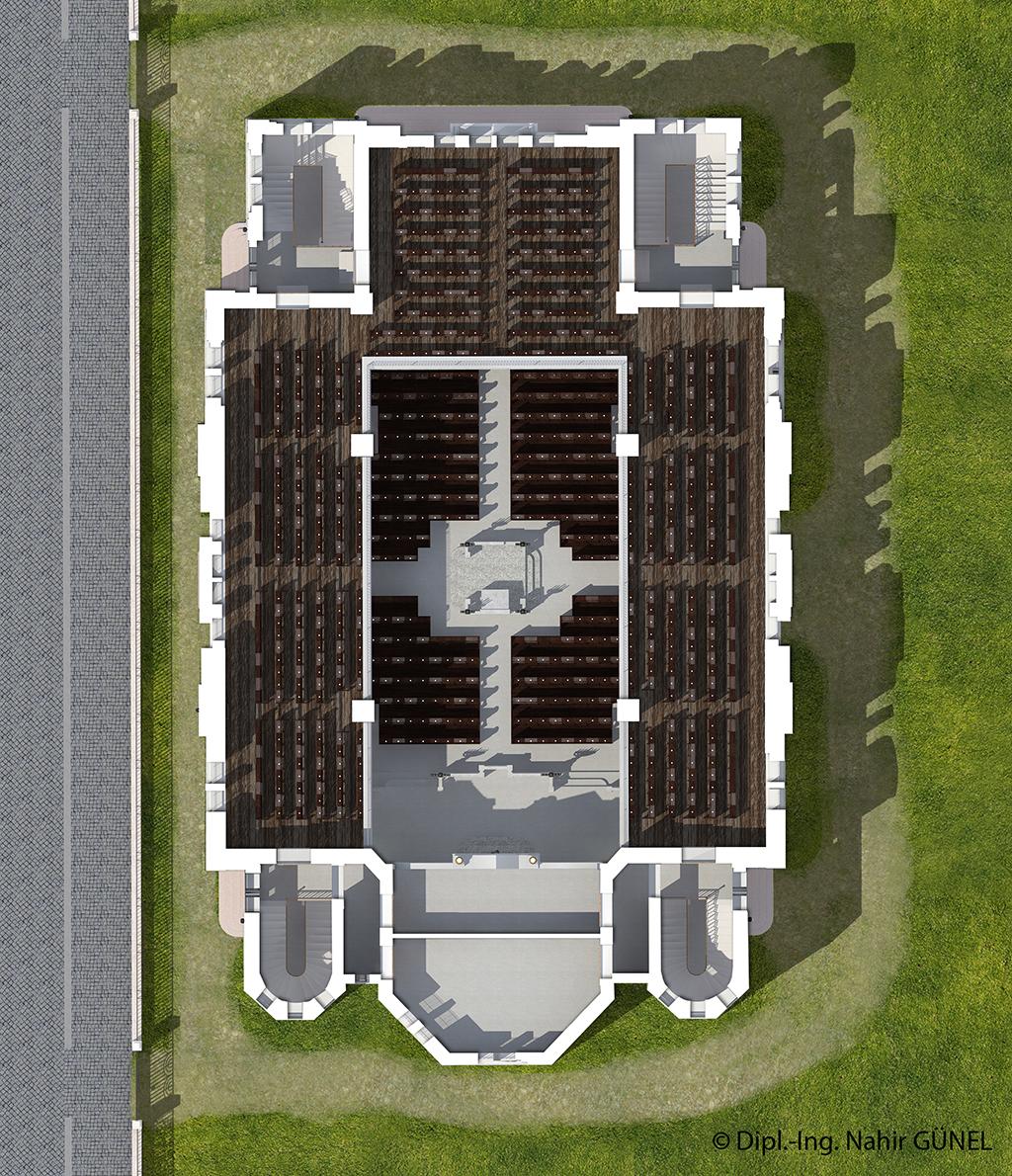 Abb. 104 - Grundriss Obergeschoss