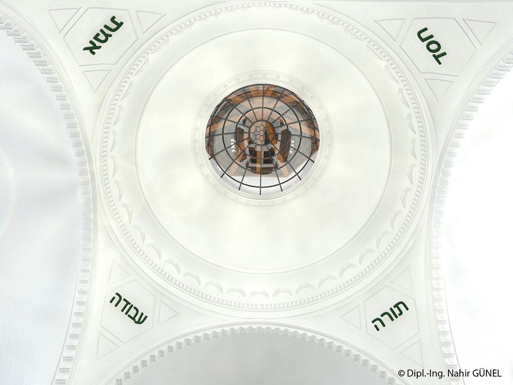Abb. 94 - EG - Blickrichtung Innenkuppel